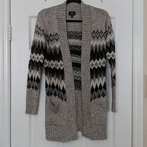 AMERICAN EAGLE Open Front Cardigan Sweater